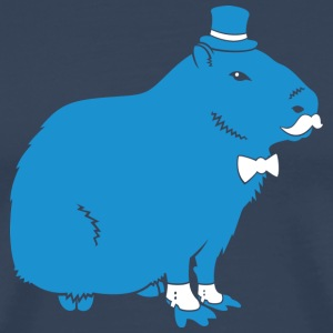 Sir Capybara T-Shirts - Men's Premium T-Shirt