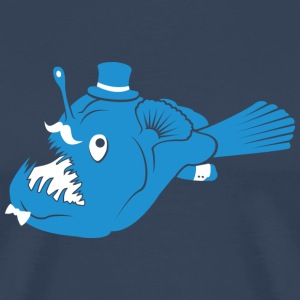 Sir Angler Fish T-Shirts - Men's Premium T-Shirt