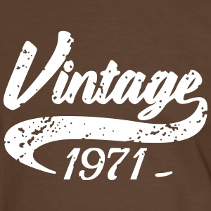 Vintage 1971 Tee shirts - T-shirt contraste Homme