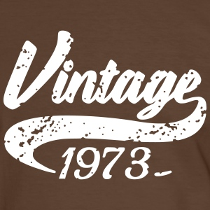 Vintage 1973 Tee shirts - T-shirt contraste Homme