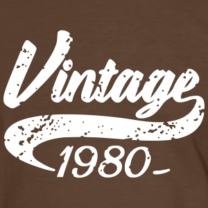 Vintage 1980 Tee shirts - T-shirt contraste Homme