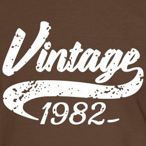 Vintage 1982 Tee shirts - T-shirt contraste Homme