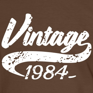 Vintage 1984 Tee shirts - T-shirt contraste Homme