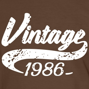 Vintage 1986 Tee shirts - T-shirt contraste Homme