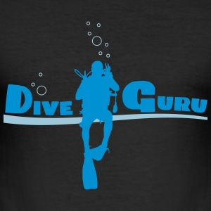 Dive Guru - Männer Slim Fit T-Shirt