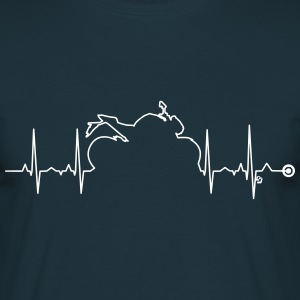 heart bike Vect1  by Cust Tee shirts - T-shirt Homme