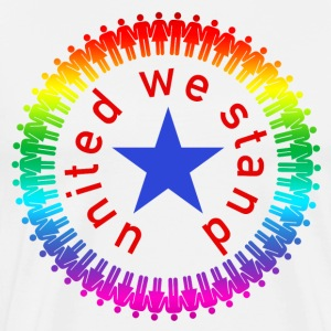 united we stand usa color T-shirts - Premium-T-shirt herr