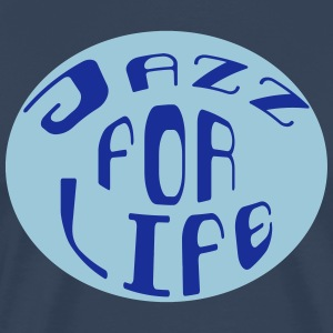 Jazz for life 2 Tee shirts - T-shirt Premium Homme