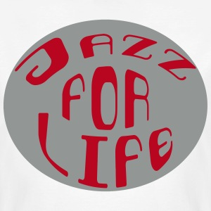 Jazz for life 2 Tee shirts - T-shirt bio Homme