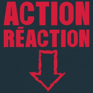 action reaction fleche pointe bas sexe Tee shirts - T-shirt Homme