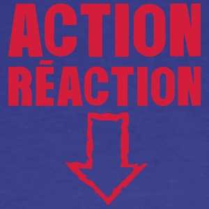 action reaction T-Shirts - Männer Premium T-Shirt