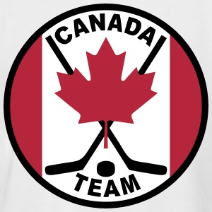 hockey canada team - T-shirt baseball manches courtes Homme