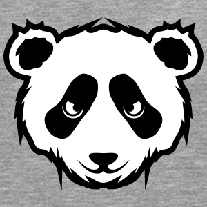 Panda animals drawing 2101 Long sleeve shirts - Men's Premium Longsleeve Shirt