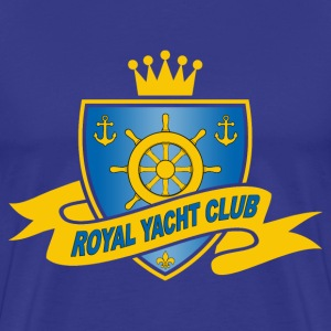 Royal yacht club 01 T-Shirts - Men's Premium T-Shirt