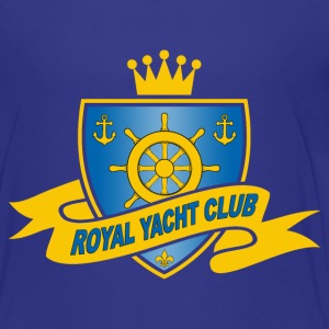 Royal yacht club 01 Shirts - Teenage Premium T-Shirt