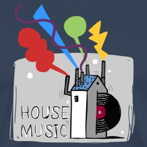 House Music t-shirt. - Men's Premium T-Shirt