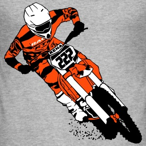 Moto Cross - motocross  T-Shirts - Men's Slim Fit T-Shirt