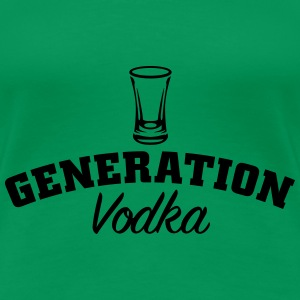Generation Vodka T-Shirts - Frauen Premium T-Shirt