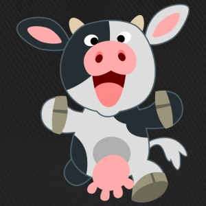 Cute Friendly Cartoon Cow by Cheerful Madness!! Caps & Hats - Baseball Cap
