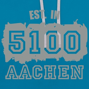 Established 5100 Aachen Pullover & Hoodies - Kontrast-Hoodie