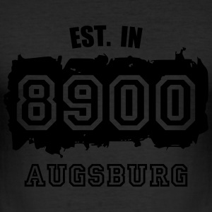 Established 8900 Augsburg T-Shirts - Männer Slim Fit T-Shirt