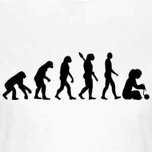 Evolution Stricken T-Shirts - Frauen T-Shirt