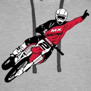 Moto Cross - motocross  Hoodies & Sweatshirts - Men's Premium Hoodie