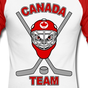 Hockey Canada team - T-shirt baseball manches longues Homme