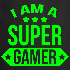 I am a Super Gamer ! Forklæder - Forklæde