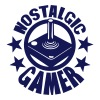 nostalgic gamer manette logo joystick 19 Sweat-shirts - Sweat-shirt à capuche Premium pour hommes