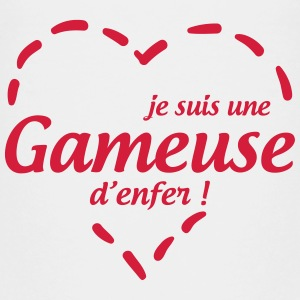 Je suis une Gameuse d'enfer ! T-Shirts - Teenager Premium T-Shirt