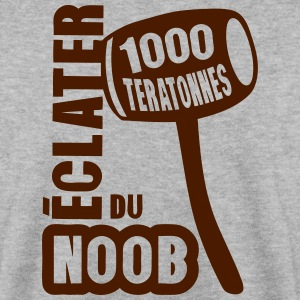 eclater noob gros marteau dessin 15 Sweat-shirts - Sweat-shirt Homme