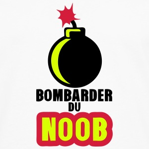 bombarder du noob gamer bombe dessin Manches longues - T-shirt manches longues Premium Homme
