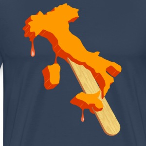 Italien is T-shirts - Herre premium T-shirt