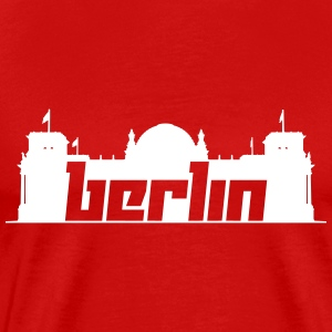 Berlin 5 (Vector) - Men's Premium T-Shirt