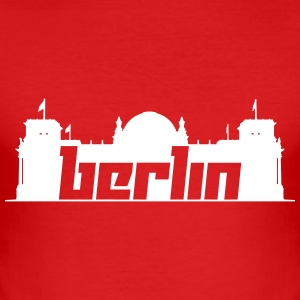 Berlin 5 (Vector) - Männer Slim Fit T-Shirt