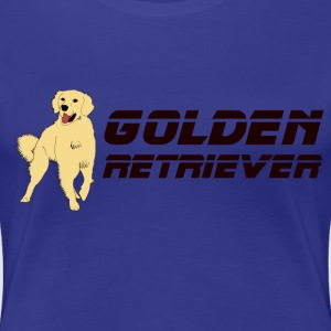 golden retriever Tee shirts - T-shirt Premium Femme