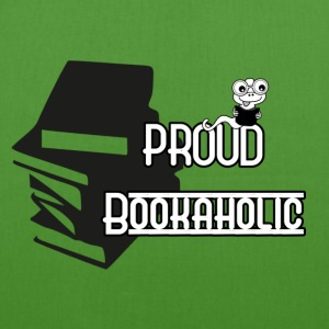 Proud Bookaholic Bags & Backpacks - EarthPositive Tote Bag