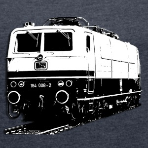 Locomotive DB184 T-Shirts - Women's T-shirt with rolled up sleeves