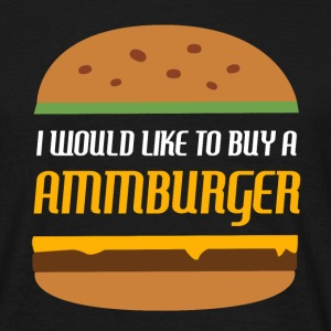 Ammburger - Mannen T-shirt