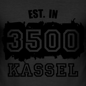 Established 3500 Kassel T-Shirts - Männer Slim Fit T-Shirt