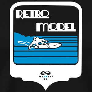 Retro Model 2 Colors T-Shirts - Men's Premium T-Shirt