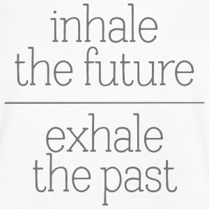 Inhale The Future - Exhale The Past T-shirts - T-shirt med v-ringning herr