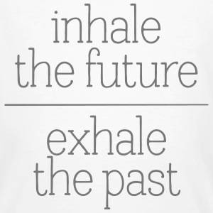 Inhale The Future - Exhale The Past T-shirts - Organic mænd