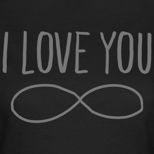 I Love You (Forever Symbol) T-shirts - Dame-T-shirt