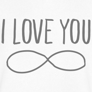 I Love You (Forever Symbol) Tee shirts - T-shirt Homme col V
