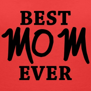 Best Mom ever T-shirts - T-shirt med v-ringning dam