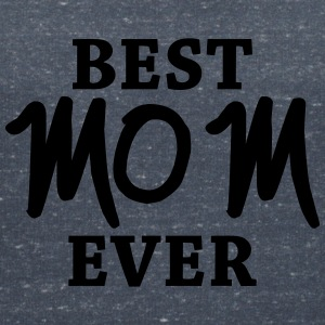 Best Mom ever T-shirts - Vrouwen T-shirt met V-hals