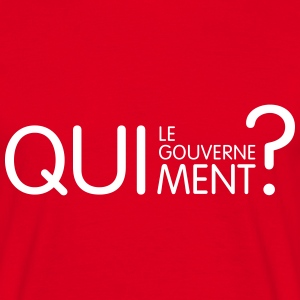 qui ment ? Tee shirts - T-shirt Homme