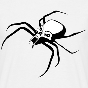 Insect spider skull T-Shirts - Men's T-Shirt